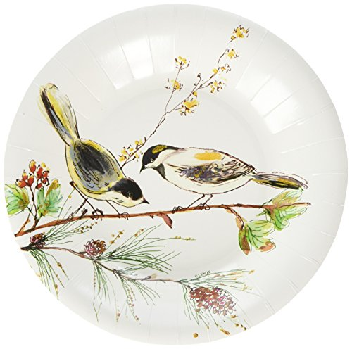 C.R. Gibson Decorative Bird Disposable Paper Plates, for sale  Delivered anywhere in USA