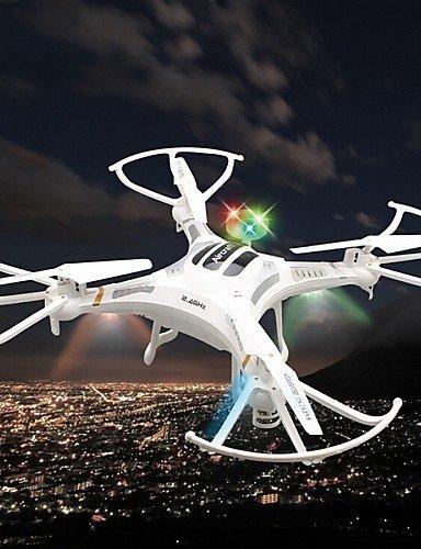 QWG x119 neue größten Xinlin x119 QWG Drohne 6-Achsen-rc quadcopter 2,4 g 4-Kanal-Drohne mit 2.0MP Kamera 3D Rollstunt , Weiß 09e578