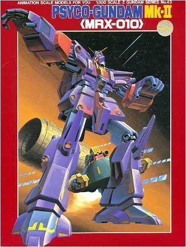 1/300 Z Z Gundam Psycho Gundam Mk2