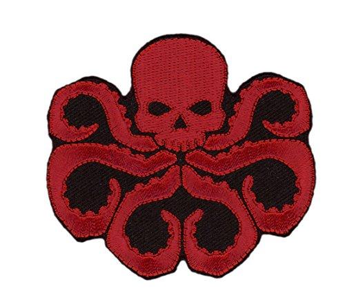 Dark Red Skull Hydra Agent Die Cut Jacket Costume Cosplay Pa
