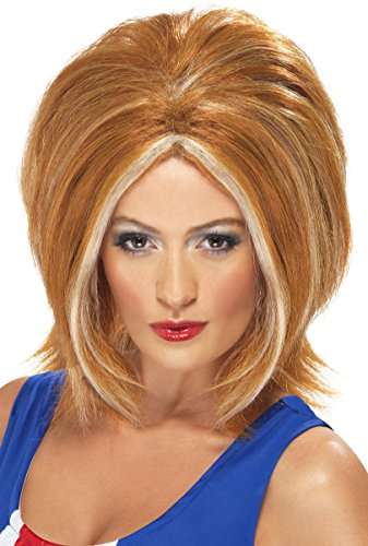Smiffy's Women's Girl Power Ginger Wig With Blonde Streaks, One Size, - For Girls Halloween Spice
