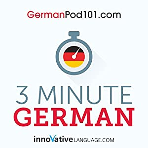 3-Minute German Audiobook