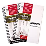 Pocket Nurse Report Sheet Notebook – Brain Sheet Template for MedSurg Nurses and CNA Reviews