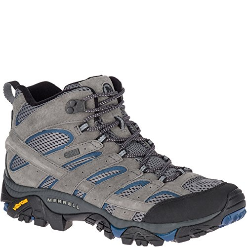Image of Merrell Men's Moab 2 Mid Waterproof Hiking Boot