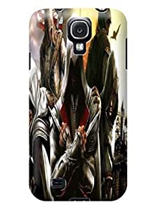 3D cute figure skin back cover case with texture for Samsung Galaxy s4 of Assassin's Creed in Fashion E-Mall