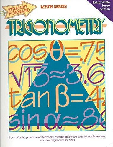Trigonometry (Straight Forward Math Series) by Stephen B. Jahnke (1992-06-01)