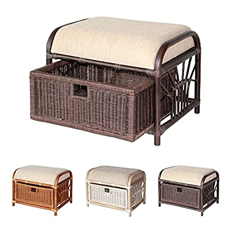 51Ol9OJxCtL._SS450_ Wicker Ottomans and Rattan Ottomans