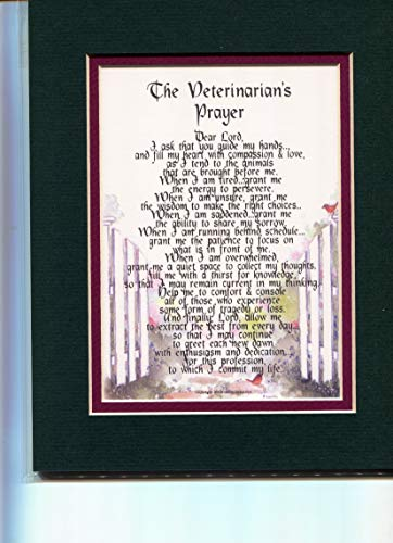 A Thank-You Gift Present Poem for A Veterinarian # 169.