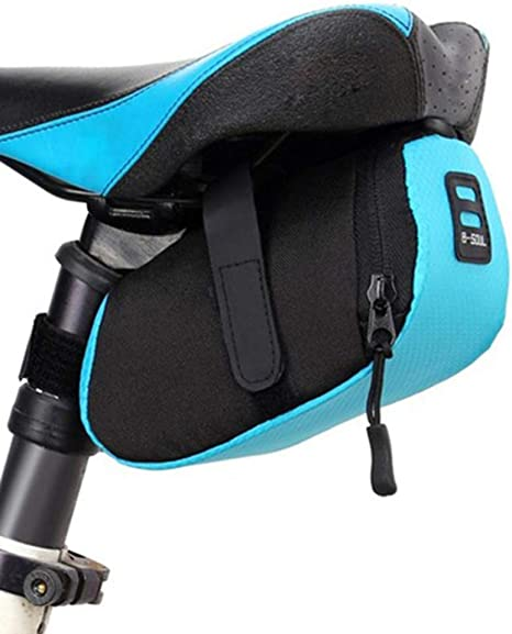 Anyike - Bolsa para sillín de bicicleta, nailon, impermeable ...