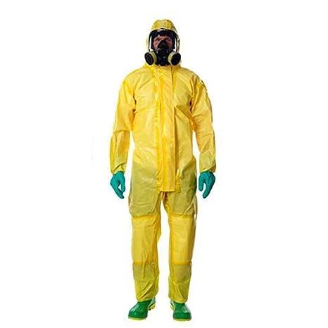 FDHLTR Ropa De Protección Química con Cubierta Protectora ...