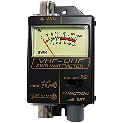Workman 104 SWR / Power Meter for VHF / UHF Ham / CB Radio: Home Audio & Theater