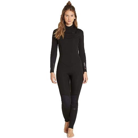 c68dc1e2d7 Amazon.com  Billabong Women s 4 3 Furnace Synergy Chest Zip Fullsuit ...