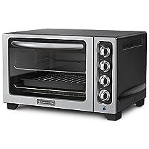 KitchenAid KCO222OB Artisan Counter Top Oven, Onyx Black