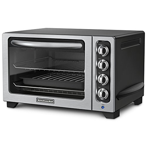 KitchenAid KCO222OB Countertop Oven, Onyx Black [Discontinued]