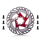 Utini Outdoor Sports Cycling Bike Aluminum Alloy 160mm Down Hill Floating Bicycle Brake Six Nail Disc Bike Parts 4 Colors