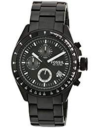 Fossil Men's Stainless Steel Bracelet Analog Dial Chronograph Watch Black CH2601