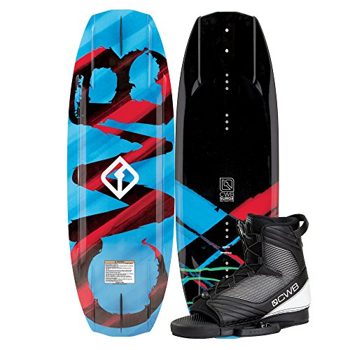 Connelly Surge 2017 Optima Wakeboard for Age (5-11), 125cm/Small/Medium by CWB