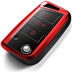 Amazon.com: Intermerge - Funda para llave de coche ...