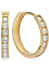 1.00 Carat (ctw) 14K White Gold Princess Cubic Zirconia Three Stone Ladies Engagement Ring