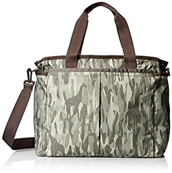 LeSportsac Ryan Baby Diaper Bag Carry On, Animal Camo, One Size