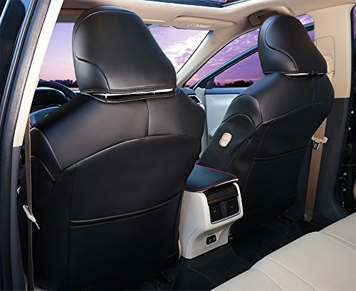 Amazon BeHave Autos Car Leather Seat Covers Fit Toyota Camry 2018 Auto Full Set Cushion Protector 4pcs Saddle Cover4pcs Back Cover5pcs Headrest