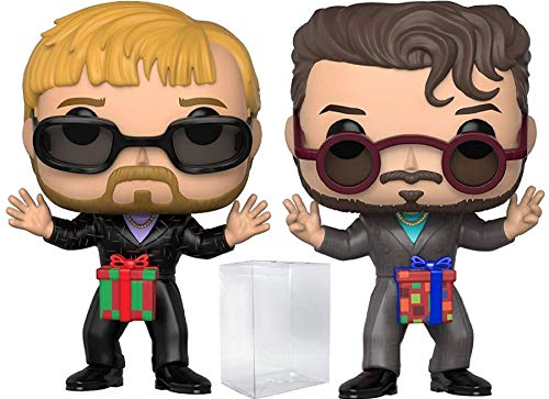 Funko Pop! TV: Saturday Night Live - SNL Dick in a Box 2-Pack Vinyl Figure (Bundled with Pop Box Protector Case)