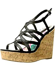 Madden Girl Womens Elmaa Wedge Sandal