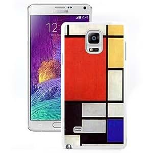 Durable Case Kate Spade 135 White Samsung Galaxy Note4 Phone Case