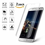 Galaxy S6 Edge Screen Protector, Fuleadture [2 Pack 0.26mm Ultra Thin 9H Hardness 3D Curved Edge] HD Clear Tempered Glass Screen Protector for Samsung Galaxy S6 Edge
