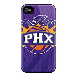 JonBradica Iphone 4/4s Protective Cell-phone Hard Covers Support Personal Customs Realistic Phoenix Suns Series [FMw1774jTUG]