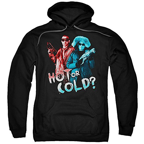 Trevco Arrow Hot Or Cold Unisex Adult Pull-Over Hoodie For Men and Women ()