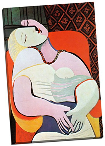 Panther Print Pablo Picasso The Dream Canvas Print Picture Wall Art Large 30X20 Inches