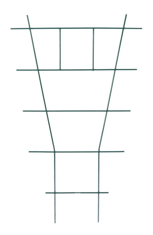 Rankhilfe f/ür Topfpflanzen Leiterf/örmig 50x30cm Blumenspalier Rankgitter St/ütze