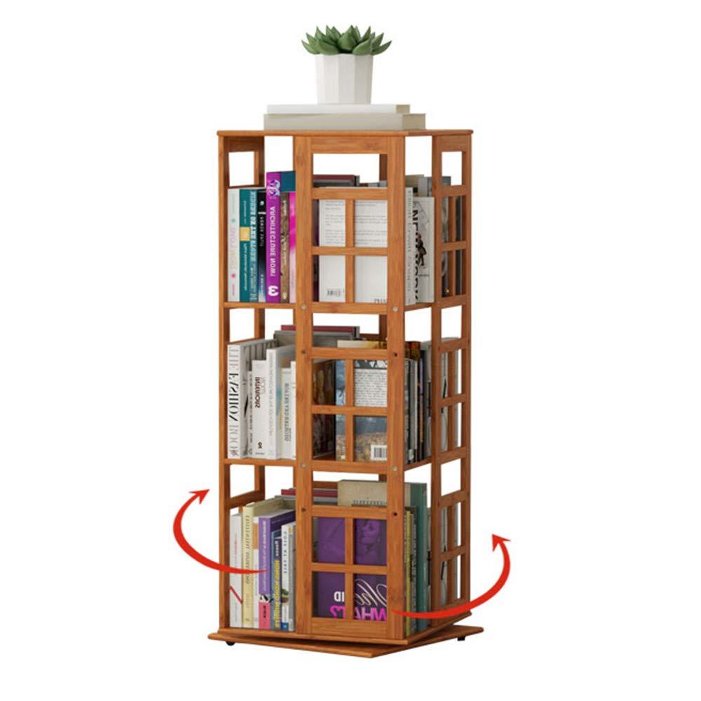 363697cm XIAOYAN Shelves Bookcase 360° redatable Solid Wood Floor-Standing Storage Rack 2 Sizes (color   36  36  67cm)
