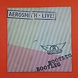 AEROSMITH Live Bootleg Dbl LP Vinyl VG+ GF Sleeve 1978 Columbia PC2 35564