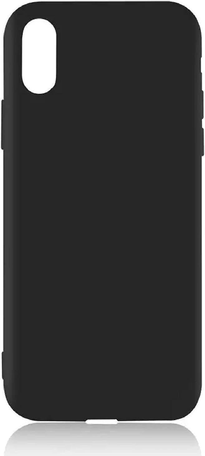 Golden Sheeps TPU Case for BLU Advance 5.2 HD, BLU Advance 5.2 Transparent Flexible Rubber Gel Thin Case Cover (Black)