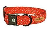 Dublin Dog Eco-Lucks Eco-Friendly Dog Collar, Firefly, Small