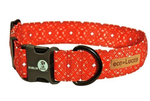 Eco-Friendly Dog Collar, Firefly, Small ()