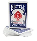 Magic Makers Bicycle Stripper Deck with 10 Bonus Tricks (Blue) -...