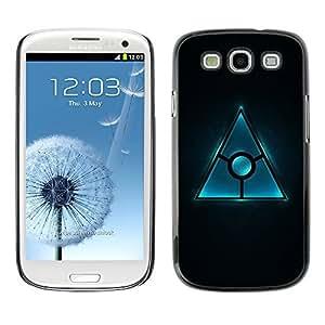 GagaDesign Phone Accessories: Hard Case Cover for Samsung Galaxy S3 - Triangle Design