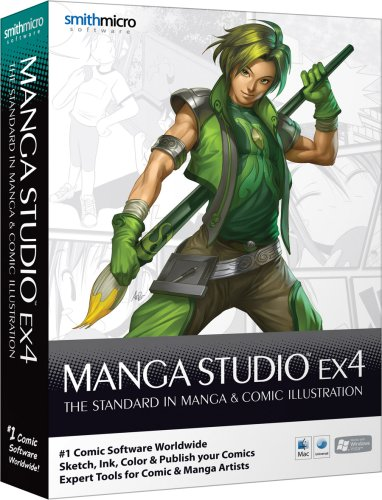 Manga Studio EX 4 - Program Manga