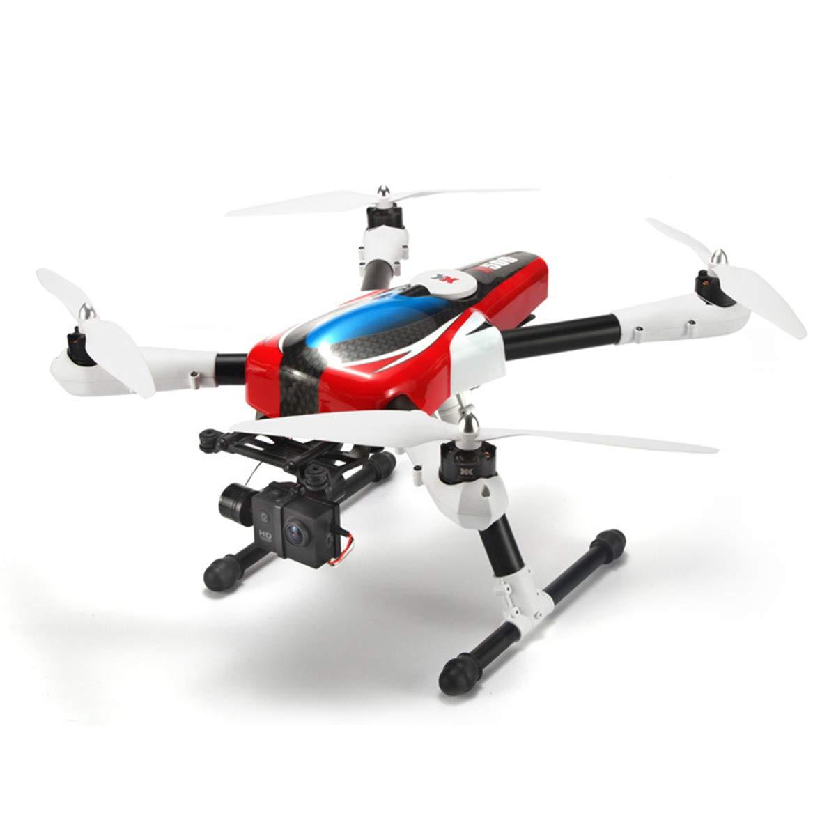 YongBe 1080P HD Kamera RC Drohne GPS Return Home 360 ° Flip Intelligente Batterie Lange ReichWeiße Fernbedienung Modell Spielzeug für Anfänger und Experten,rot-OneGröße rot OneGröße