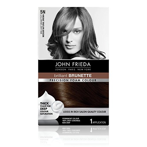 John Frieda Precision Foam Colour, Medium Natural Brown 5N (Best Foam Hair Color)