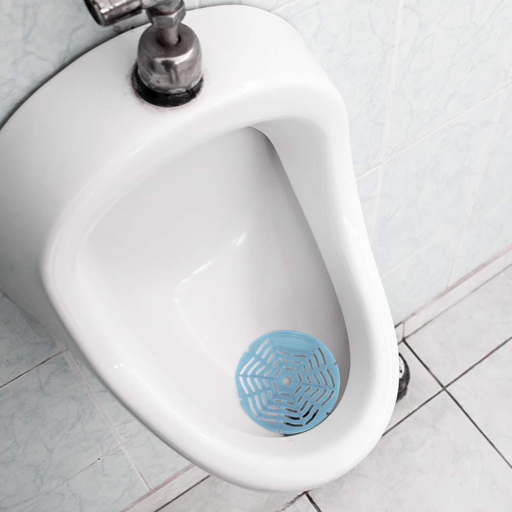 Keilafu Urinario Protector 2 PCS Ocean Blue Scented Spinal Pad Splash Tabletas de fragancia con desodorante con filtro urinario adecuadas para hoteles familiares pantalla del urinario