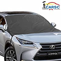 Waterproof Car Windshield Cover for Ice and Snow Kit for ALL Cars Trucks SUVs and Vans