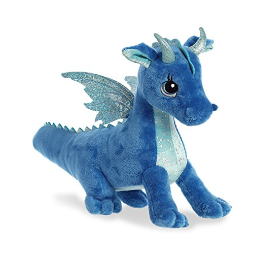 Plush Stuffed Dragon - Aurora Indigo Dragon