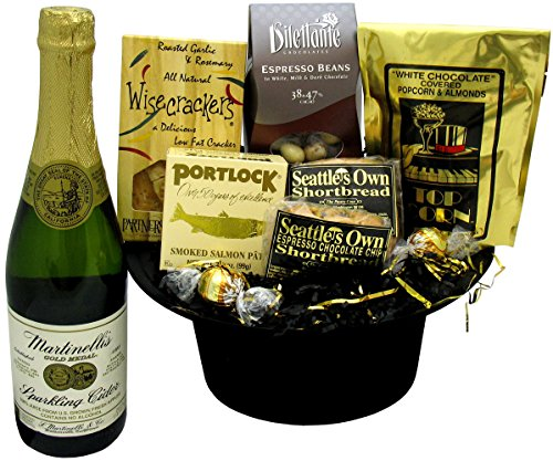 Hats Off Gift Basket (Wine Gift Baskets Seattle)