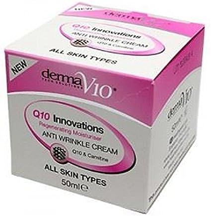Healthpoint Derma V10 Q10 innovaciones Regeneradora Crema Hidratante – Crema antiarrugas, 50 ml, pack de 6: Amazon.es: Belleza