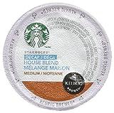 keurig coffee 120 - Starbucks Keurig Hot Coffee, Ground, Medium Roast, House Blend, Decaf, K-Pods
