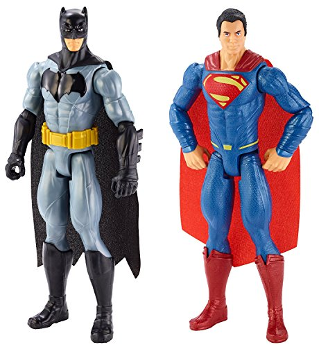 Super Hero Batman vs Superman Dawn of Justice Action Figures Toys 2 Pack